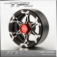 "TFL 1.9"" Realistic 6 spoked heavy duty wheel design R"