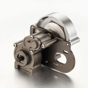 TFL CNC Alloy Center Main Gearbox /Metal Gears Assembly For Axial SCX10