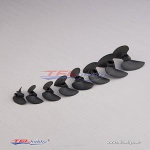 TFL O series 27-47mm 3.18/4.76mm Nylon two-blade propeller RC Boat