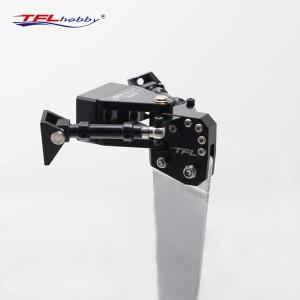 Simulated Aluminum Rudder