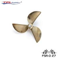TFL CNC 3 Blade Copper Propeller 72x6.35mm