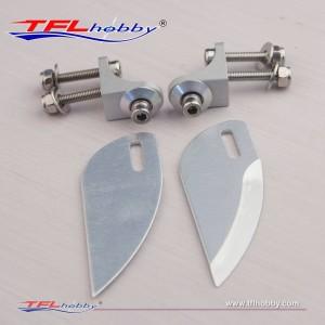 Aluminum  21mm Turn fin