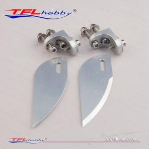 Aluminum 25mm Turn Fin