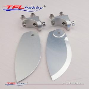 Aluminum 38mm Turn fin