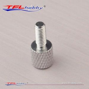 Aluminum 13mm Knurled Screw