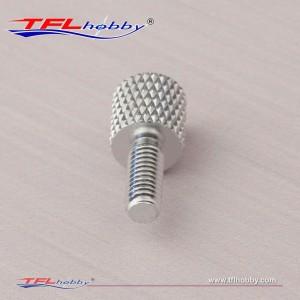 Aluminum 18mm Knurled Screw