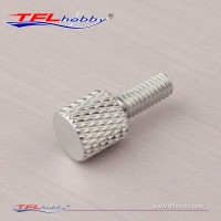 Aluminum 18mm Knurled Screw