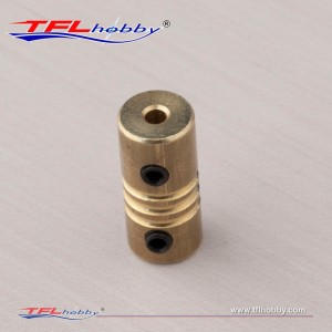 TFL 2.2mm to 2.3mm Stainless Steel/Brass collet Coupler Connector Shaft RC Boat