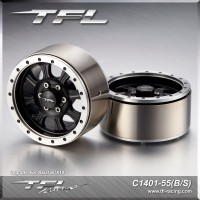TFL 1.9 Inch Beadlock 8-Spoked Heavy Duty Wheels