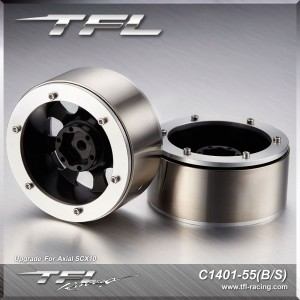 TFL 1.9 Inch Beadlock 8-Spoked Heavy Duty Wheels