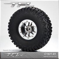 """116mm Tires With CNC 1.9"""" Beadlock 10-Spoked Wheels"""