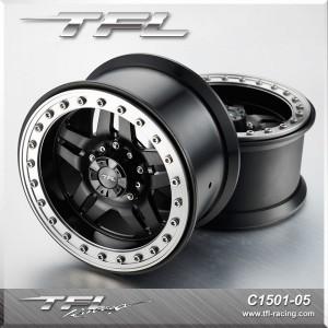 3.8 Inch Beadlock 5-Spoked Wheels