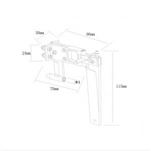 Aluminum 110mm Rudder
