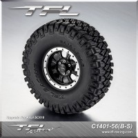 1.9*4.6 inch Emulation 8-Spoked   Heavy Duty  Tire