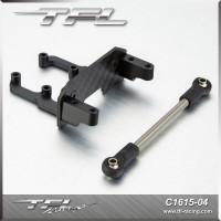 Servo Mount W/ Steering Rod For Axial SCX10 II