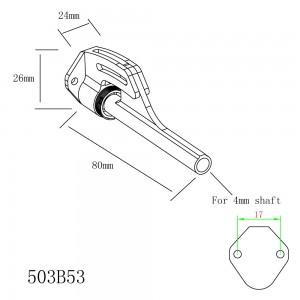 Reverse Stinger for 4mm Shaft