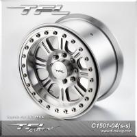 3.8 Inch Beadlock 8-Spoked Wheels