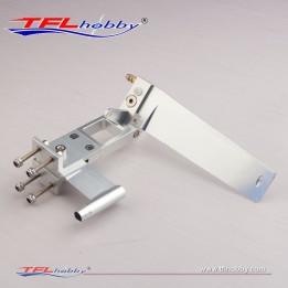 Aluminum Rudder Set W/ Sturt