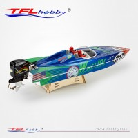 """TFL 1148 Warrior 35"""" outboard brushless rc boat with ARTR"""