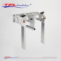 Aluminum Dual Rudder With Strut