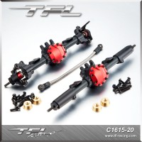 Front&Rear Axle Completed Assembly For Axial SCX10 II