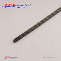 6.35mm Flex Cable Shaft W/ Round & Square Ends