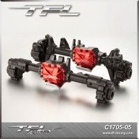 TFL CNC Aluminum Front Rear Axle Housing Set For Traxxas TRX-4 Crawler C1705-05