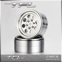 TFL 2.2 Inch CNC Wheels offse+2.5mm design A/C 2 pcs for RC Car C1402-30/32S/32B